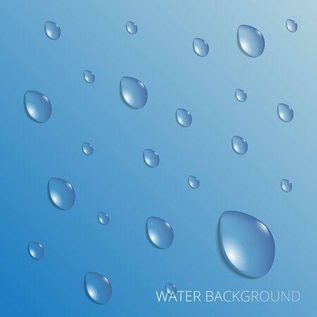 condense: water drops background vector illustration Illustration