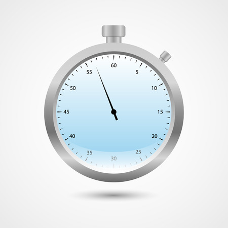 chronometer: Chronometer Vector Icon | Football, Soccer Timer | Referee Watch