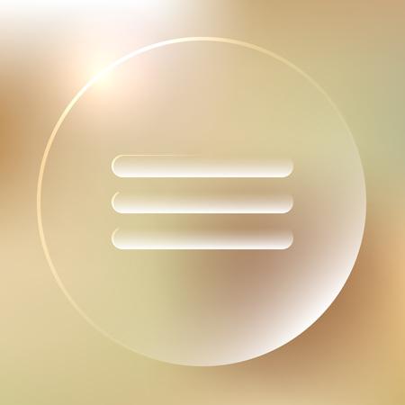 web portal: Menu Glassy Icon | Web Buttons