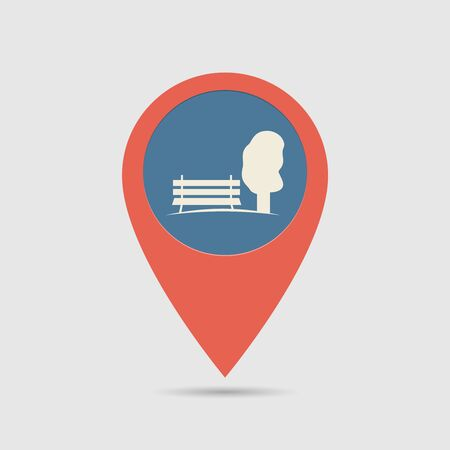 park icon: Map Pin For Park Location | Map Marker, Pointer | Park Icon
