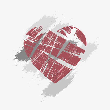 jealousy: Broken Heart Background | Grunge Design