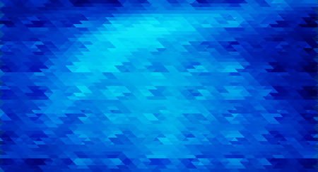 pixelated: Blue mosaic vector background