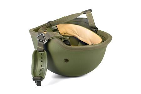 Military or police helmet Stock Photo - 15425429