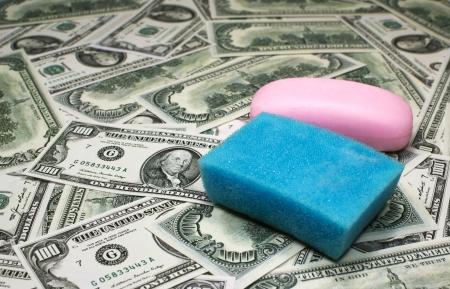 Money laundering 版權商用圖片