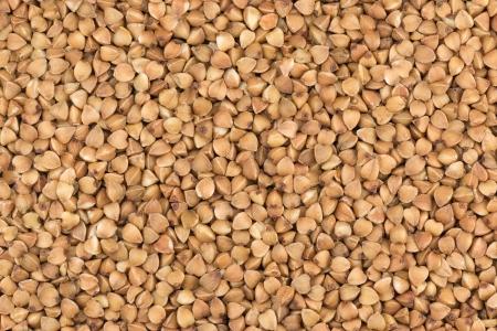 Buckwheat groats background Zdjęcie Seryjne