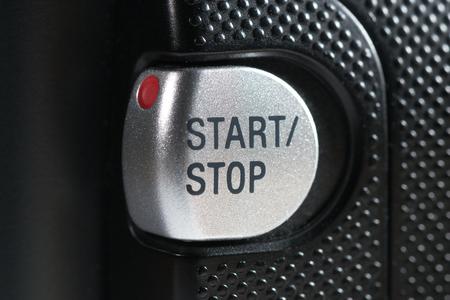 are hidden: Start Stop recording button closeup