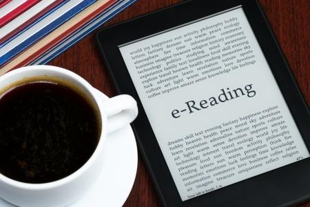 e book reader: e-Book, e-Reading