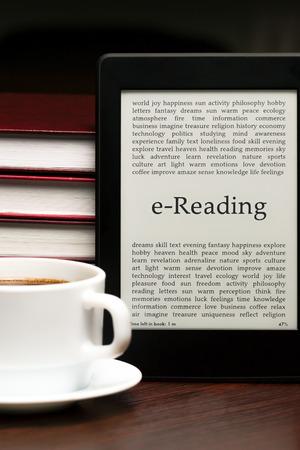 e-Book, e-Reading photo