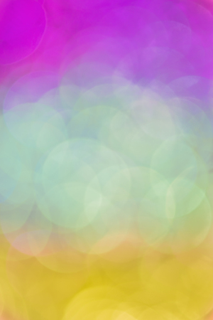 Natural bokeh on gradient background Stock Photo