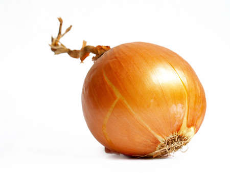 goldish: goldish onion isolated on white background with clipping path