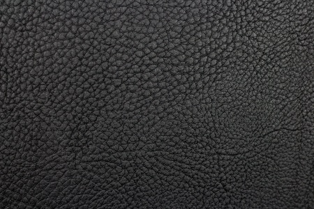 Black leather texture. Close up. 写真素材