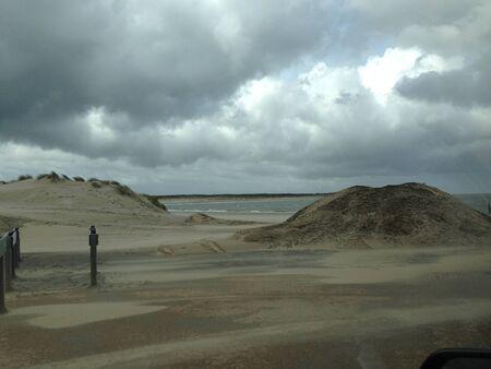 sandhills: Sandhills at the coast Stock Photo