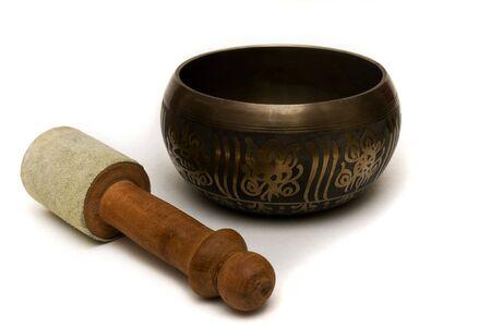 tibet bowls: A tibetan meditation bowl