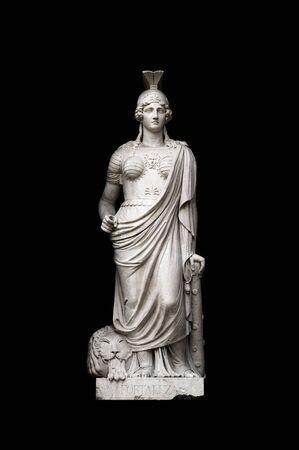 allegorical: Allegorical sculpture (Strength) by Valeriano Salvatierra y Barriales, Museo del Prado, Madrid