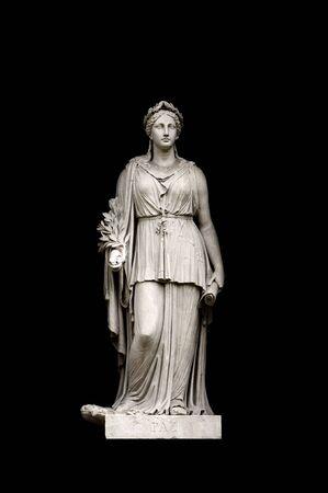 allegorical: Allegorical sculpture (Peace) by Valeriano Salvatierra y Barriales, Museo del Prado, Madrid