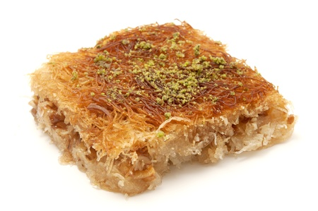 Kanafeh on a white background