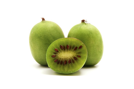 hardy: Hardy Kiwifruit on a white background