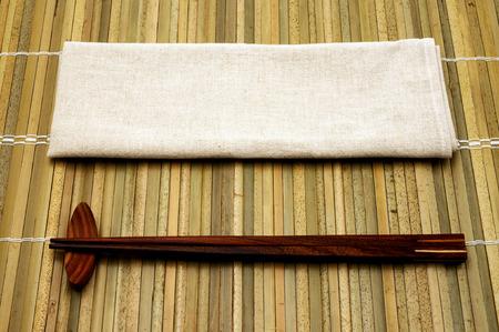 hashi: Close up shot of japanese chopsticks Stock Photo