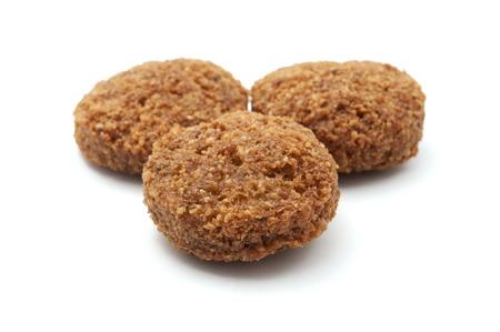 Falafel balls on a white background Stock Photo