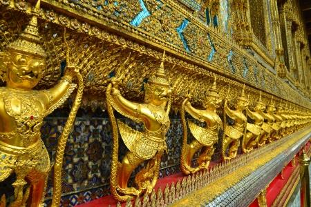 Garuda at Wat Phra Kaew,Bangkok, Thailand photo
