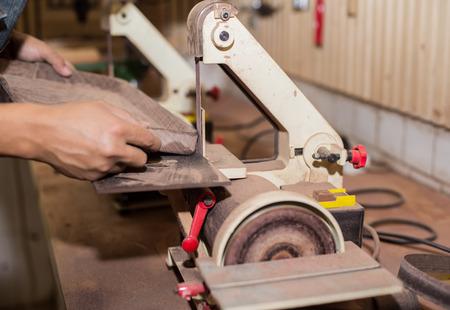 carpenter: Carpentry. Carpenter working in his workshop