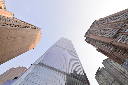 superstructure: Looking up at the Skyscrapers