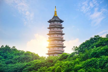 Pagoda di sei armonie, chongqing, Cina Archivio Fotografico - 79565672