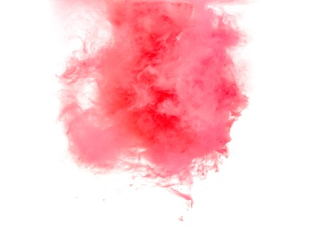 dissolve: abstract formed by color dissolving in water