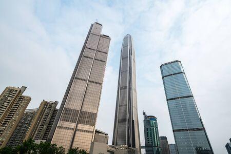 The skyscraper is in shenzhen, China