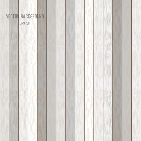 knotted: white wood plank background. vector
