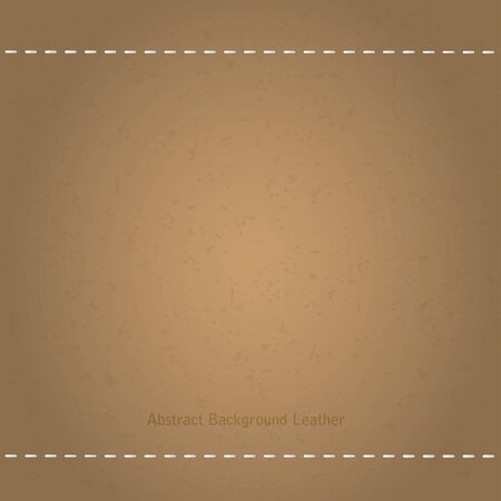 brown: Texture brown leather. Vector