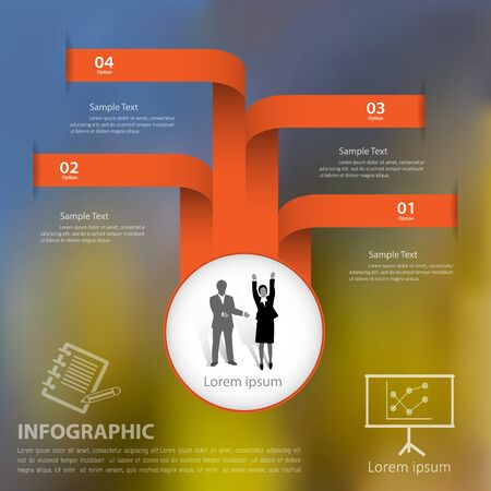 website template: Abstract template . Can be used for workflow layout, banner, diagram