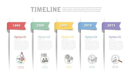 conection: Timeline template, can be used for workflow layout, diagram, number options, web design