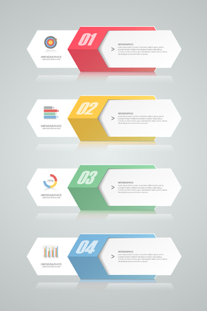 timeframe: 4 steps infographic template. can be used for workflow layout, diagram, number options, progress, timeline