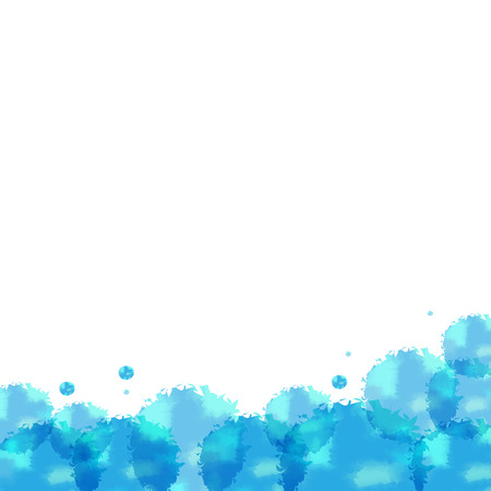pictured: Abstract watercolor background