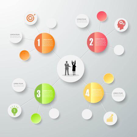 Design mind map infographic