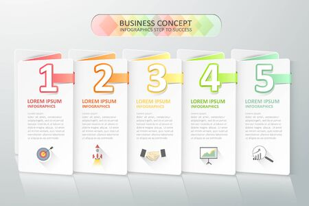 Business concept infographics.