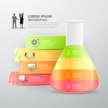 inovation: Business concept infographics.