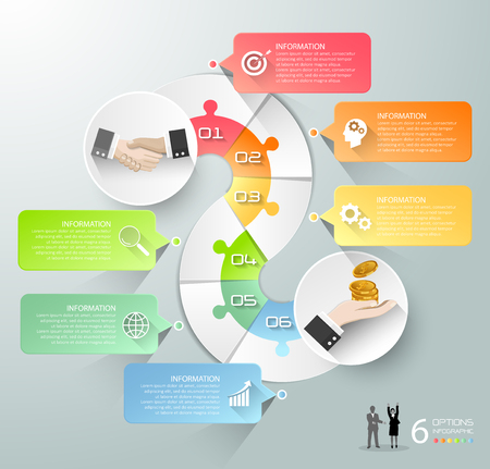 Abstract 3d infographic 4 options,  Startup business concept infographic template can be used for workflow layout, diagram, number options, timeline or milestones project. Illustration
