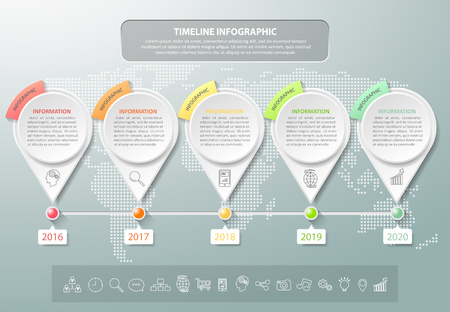 Design business concept infographic template can be used for workflow layout, diagram, number options, timeline or milestones project.