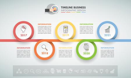 Diseño de plantillas infográficas 5 opciones. El concepto de negocio se puede utilizar para la disposición del flujo de trabajo, diagrama, opciones del número, línea de tiempo, pasos, infografía de la demostración