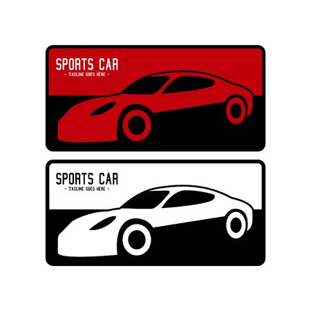 Illustration vector graphic of sport car in flat design. Perfect for your automotive business. Illustration