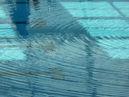 choppy: Choppy water surface in the pool