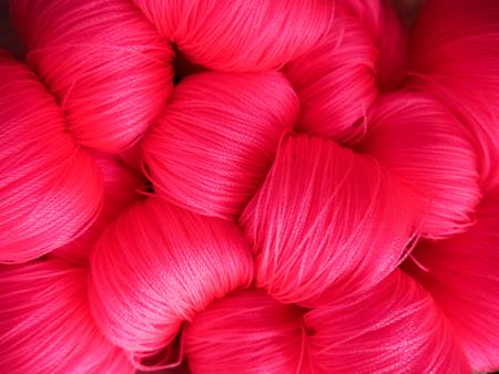 nylon string: Pink nylon