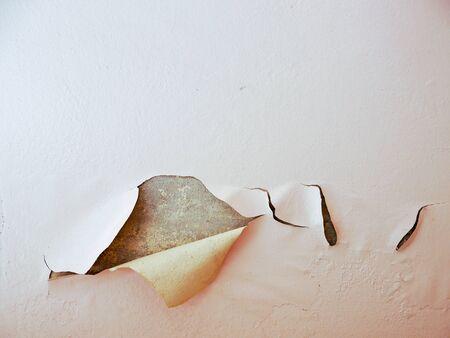 peeling: peeling paint wall Stock Photo