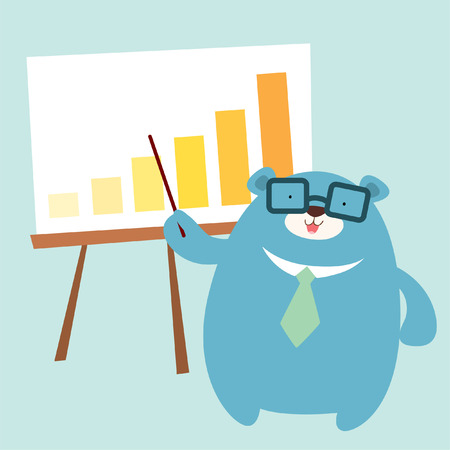 mr: Mr  Bear present graph