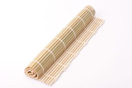 japenese: Bamb� japon�s norri aisladas en blanco Foto de archivo