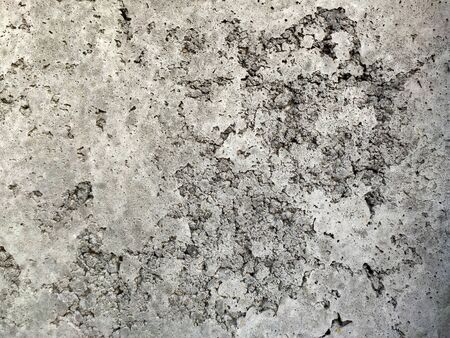 Grey Concrete Texture old wall with scratches and cracks