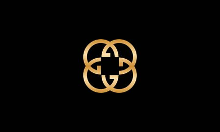 Simple letter logo from letter G logo design concept