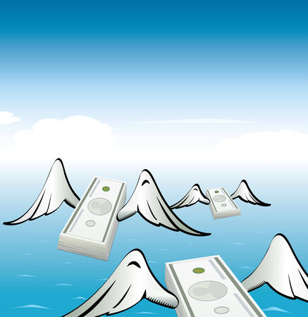 migrate: Flying moneys with wings